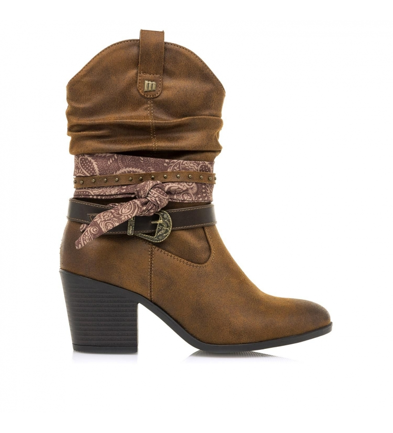 Comprar MTNG Ankle boots 50275 brown -Heel height: 7cm