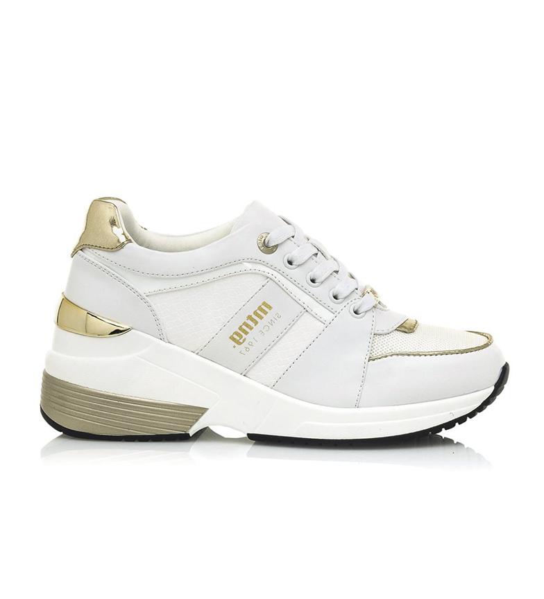 Comprar Mustang Nueva Colección Sapatos Amby brancos - altura da cunha: 7,5 cm