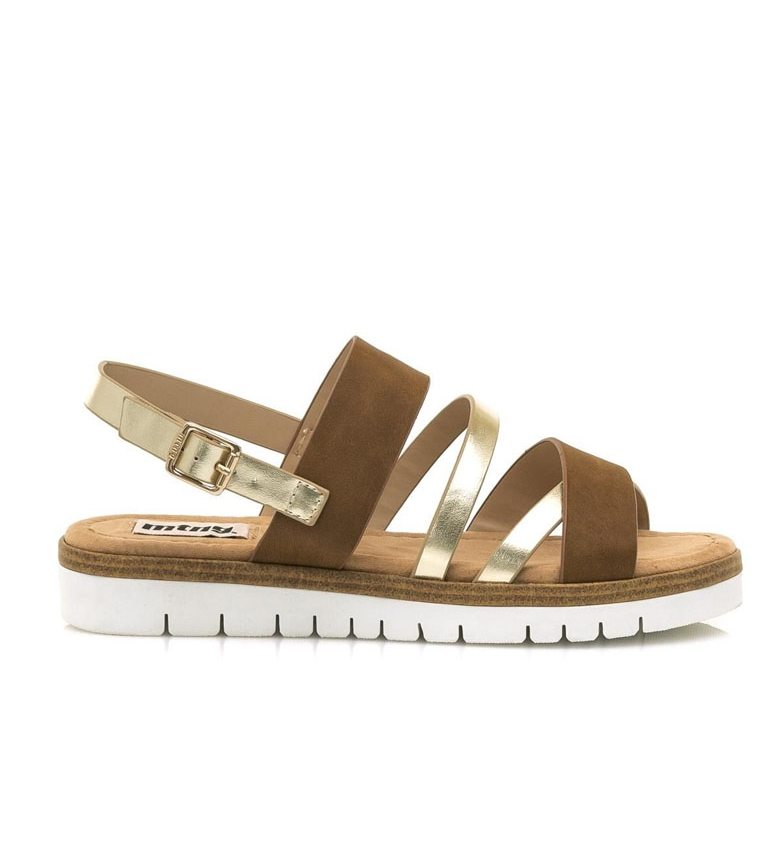 Comprar Mustang Damo leather, platinum sandals