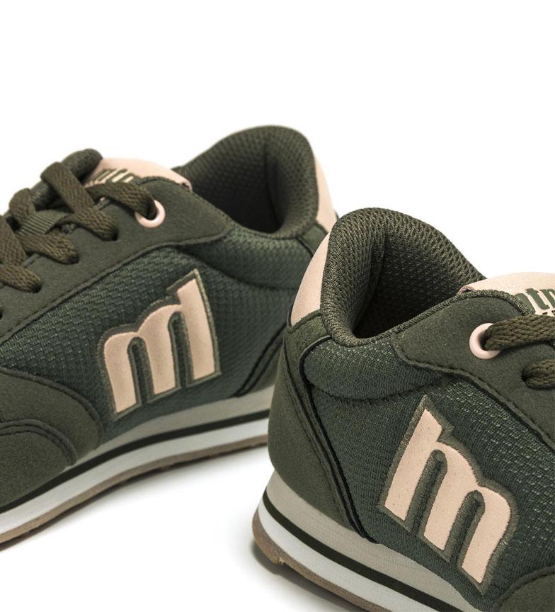 Mustang-Zapatillas-Jogger-negro-Mujer-chica-Azul-Verde-Nude-Granate-Tela miniatura 11