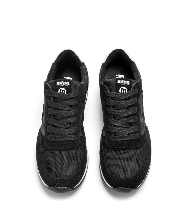 Mustang-Sneakers-in-pelle-Metro-Uomo-Tessuto-Blu-Nero-Verde-Granata-Basso miniatura 22
