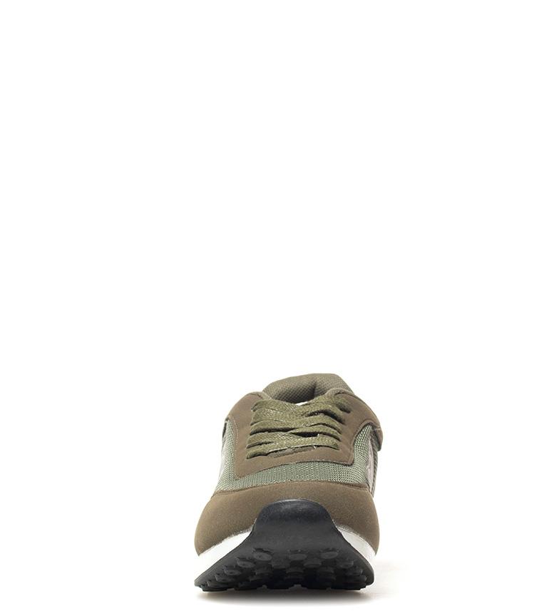Mustang-Zapatillas-Jogging-Hombre-chico-Tela-Sintetico-Plano-Cordones-Casual