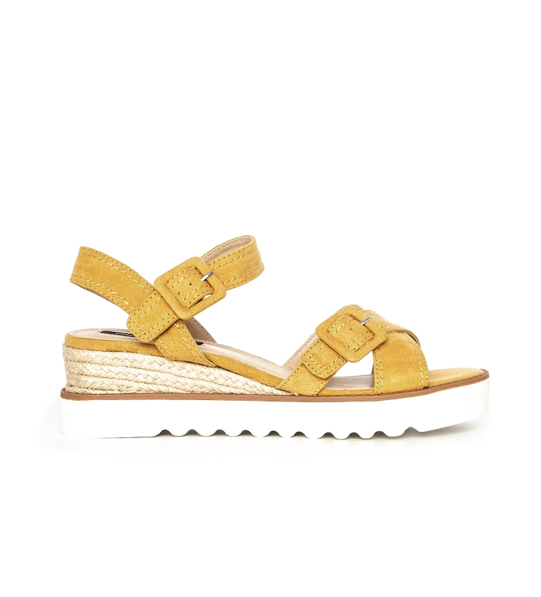 Comprar Mustang Sandals Antil mango - Wedge height: 5,5cm