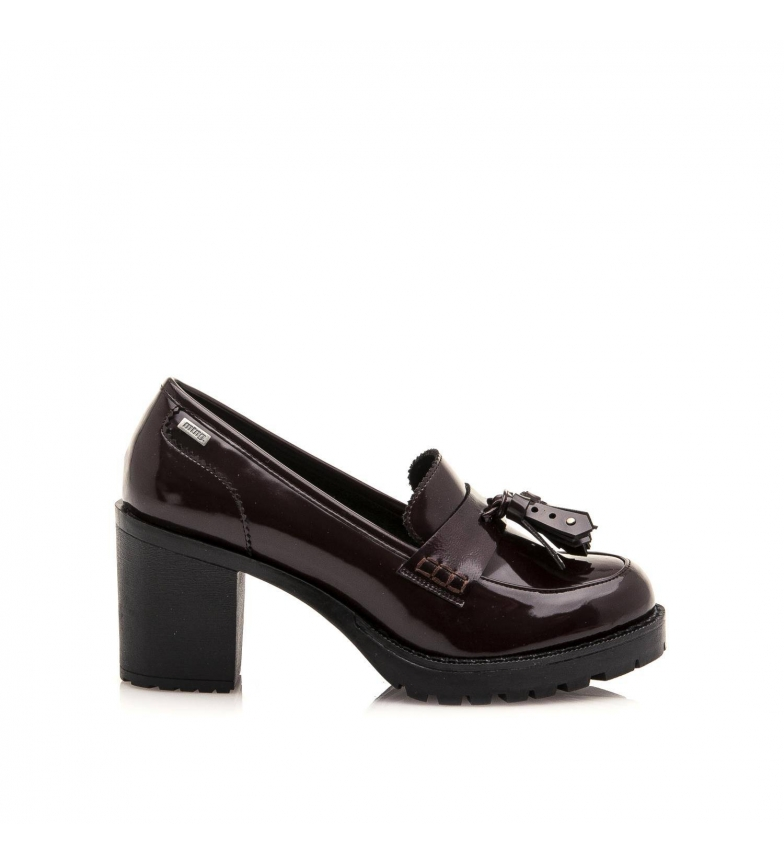 Comprar Mustang Tina burgundy shoes -heel height: 8cm