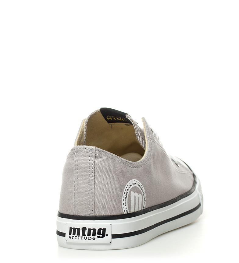 Mustang-Zapatillas-Trend-Low-Hombre-chico-Blanco-Gris-Negro-Granate-Azul-Tela miniatura 6