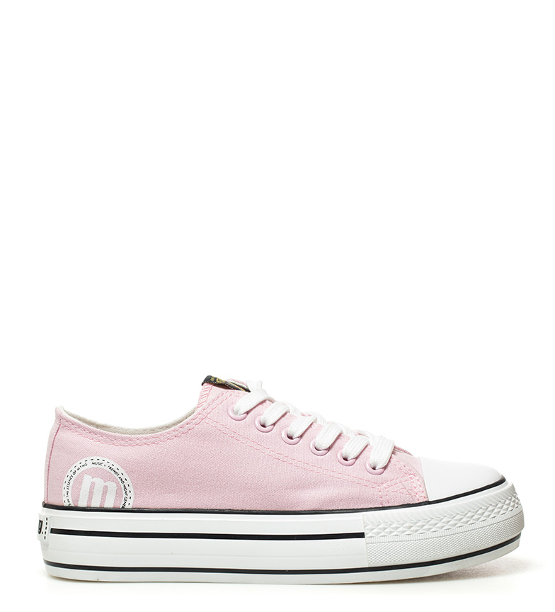 Comprar Mustang Pink Canvas Shoes - Platform height: 3,5cm-