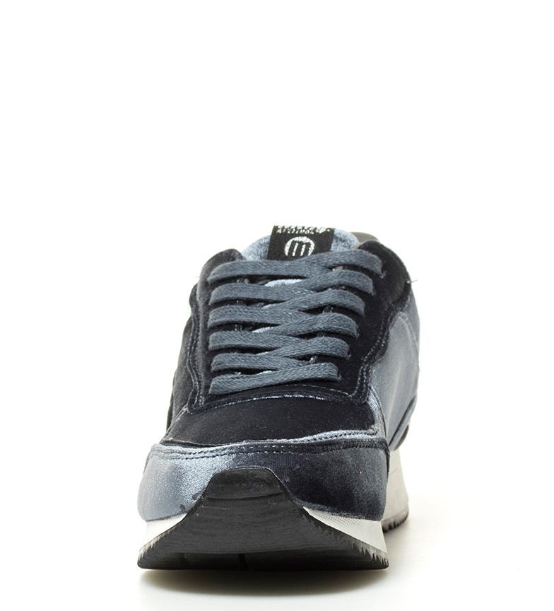 Mustang-Zapatillas-Cris-negro-Mujer-chica-Rosa-Azul-Plano-1-a-3cm-3-a-5cm