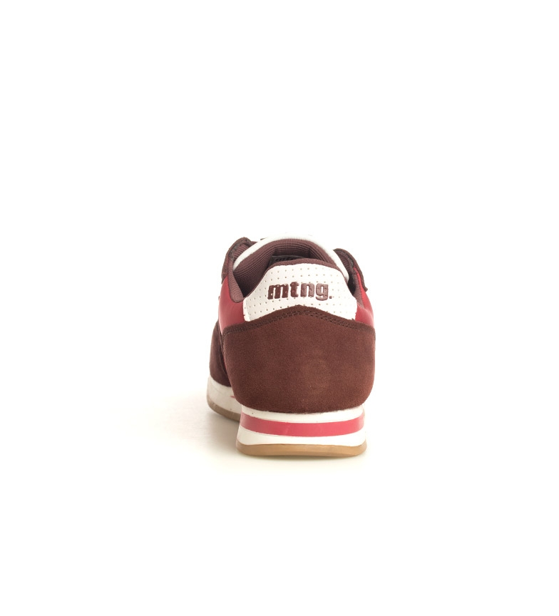 Mustang-Sneakers-in-pelle-Metro-Uomo-Tessuto-Blu-Nero-Verde-Granata-Basso miniatura 5