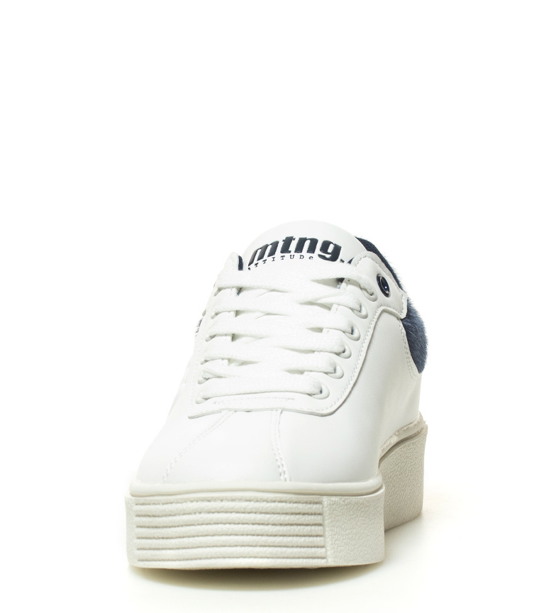 Mustang Zapatillas blanco Dufan azul Mustang Zapatillas q1qw7p