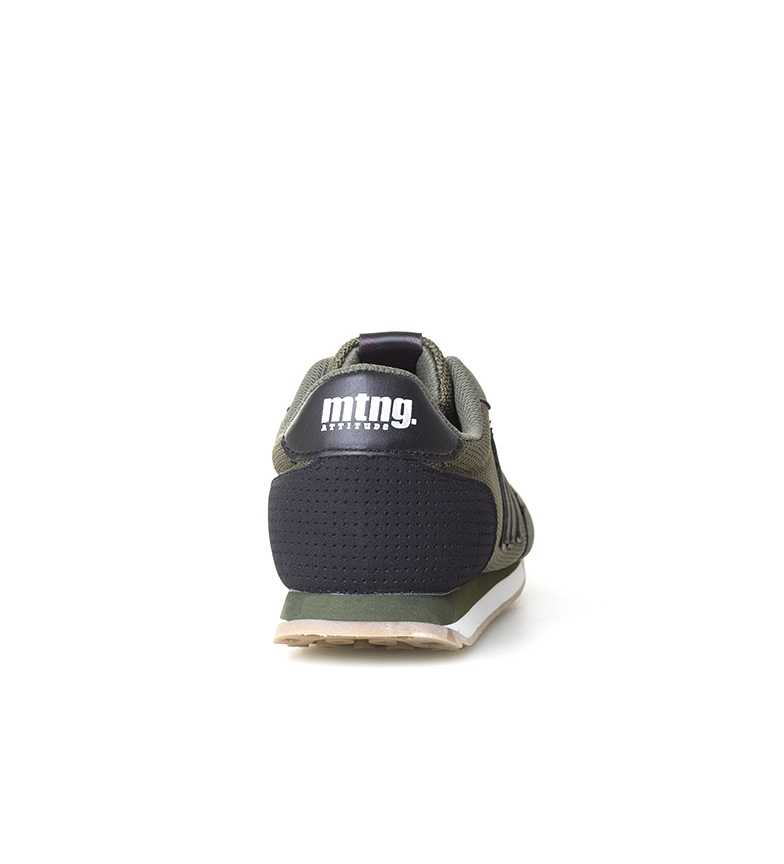 Mustang-Zapatillas-Funner-Hombre-chico-Azul-Verde-Tela-Sintetico-Plano miniatura 14