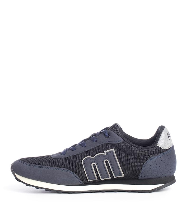 Mustang-Zapatillas-Funner-Hombre-chico-Azul-Verde-Negro-Granate-Gris-Tela miniatura 33