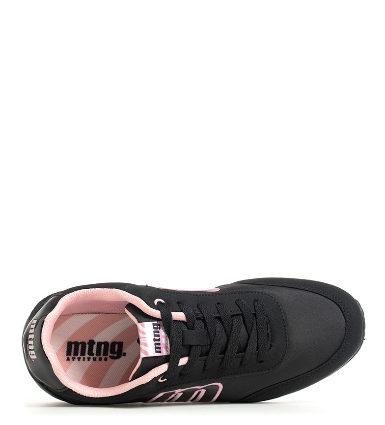Mustang-Baskets-Funner-Femme-Tissu-Synthetique-Plat-Lacets-Casuel-Multicolore miniature 11