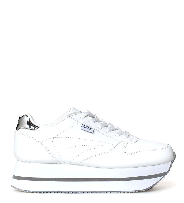 Comprar Mustang Rhin shoes white - Platform height: 4cm