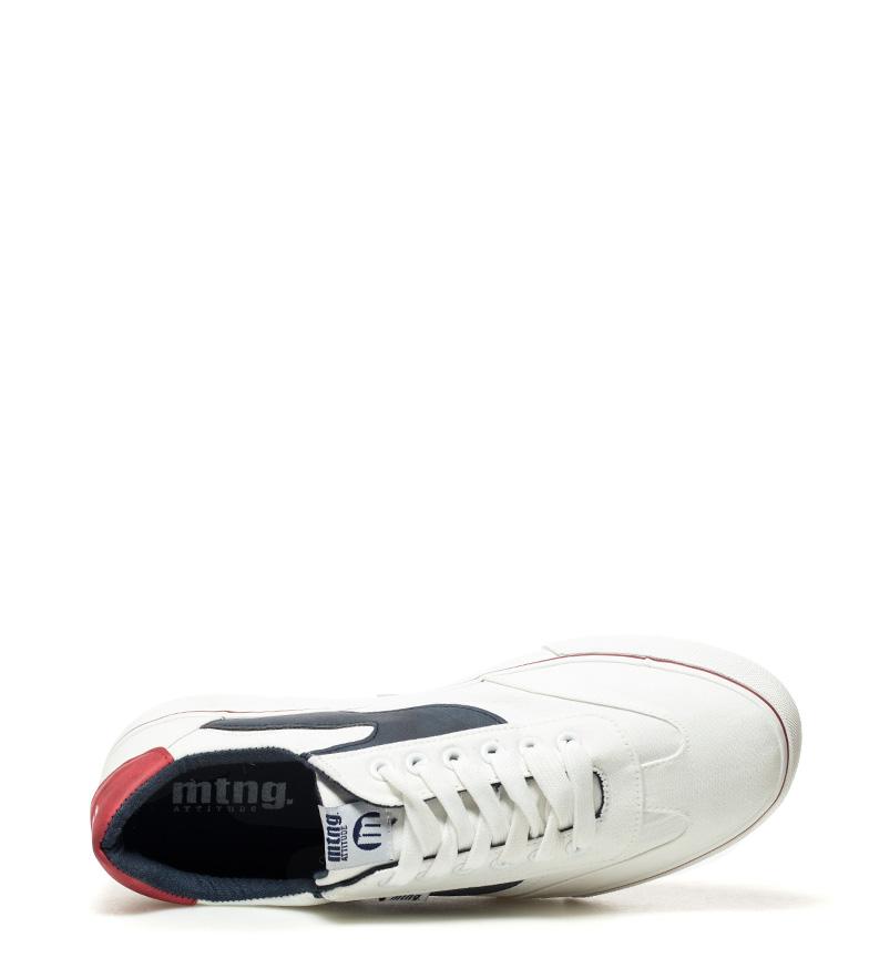 Mustang-Baskets-Burton-Homme-Tissu-Synthetique-Plat-Lacets-Casuel-Grenat-Vert miniature 32
