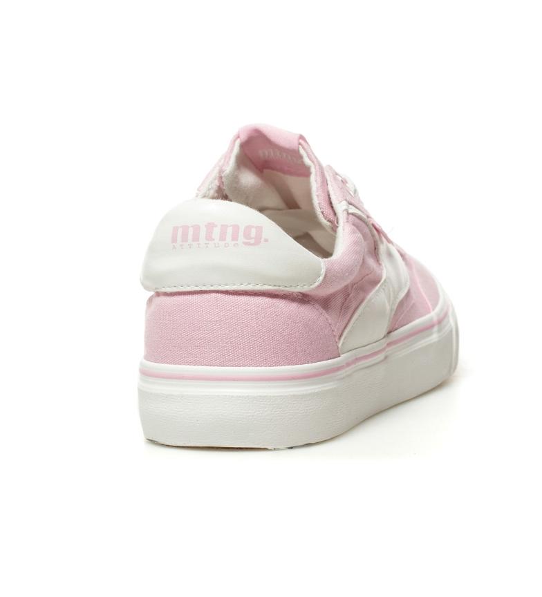 Mustang-Zapatillas-Taylor-Mujer-chica-Blanco-Rojo-Lila-Azul-Rosa-Negro-Tela
