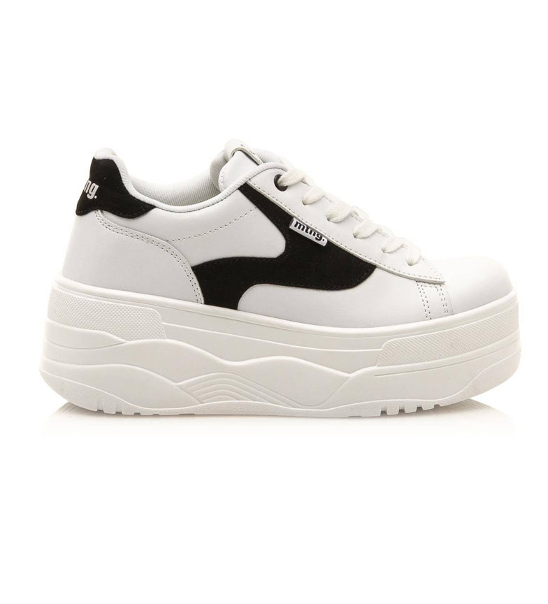 Comprar Mustang Top shoes white - Platform height: 6.5cm