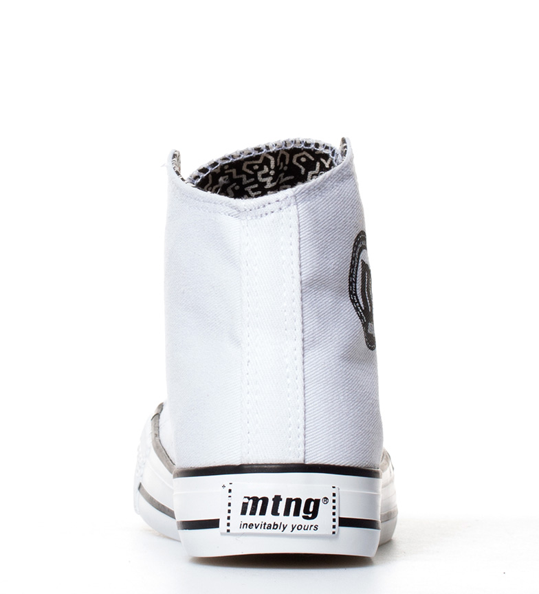 Chica blanco High Mustang Trend Zapatillas wqfP1gXZ1