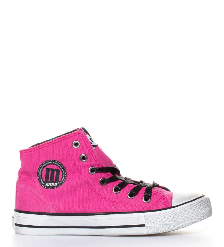 Mustang High Trend Chica Zapatillas fucsia Mustang Zapatillas Trend Vintage fqRHrf