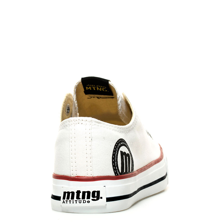 Mustang-Zapatillas-Trend-Low-Mujer-chica-Dorado-Blanco-Lila-Azul-Negro-Rosa miniatura 35