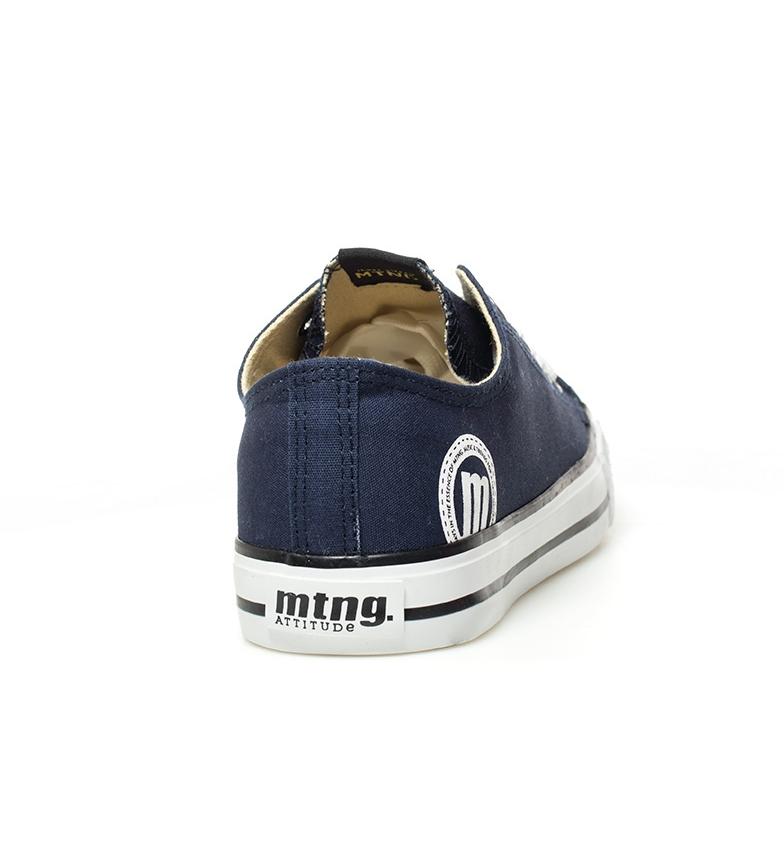 Mustang-Zapatillas-Trend-Low-Hombre-chico-Blanco-Gris-Negro-Granate-Azul-Tela miniatura 12