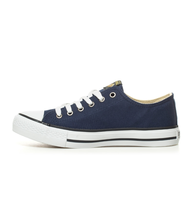 Trend blanco marino Low Zapatillas Mustang axC7qwfw