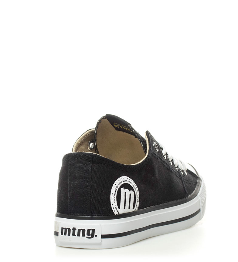 Mustang blanco negro Trend Low Zapatillas qqzT10