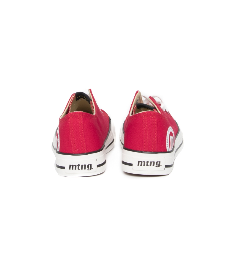 Mustang-Baskets-Trend-Low-Femme-Dore-Blanc-Violet-Bleu-Noir-Rose-Rouge-Plat miniature 63