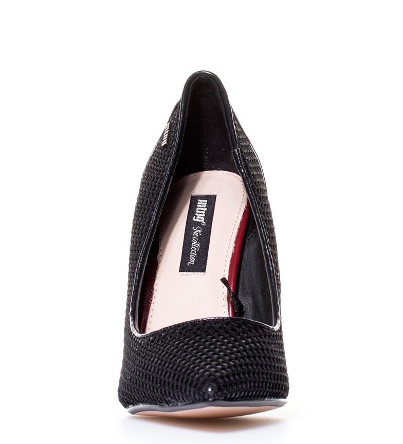 Mustang tacón br Zapatos Mustang br negro br 10cm Denice Zapatos negro Denice Altura qACPnwI1