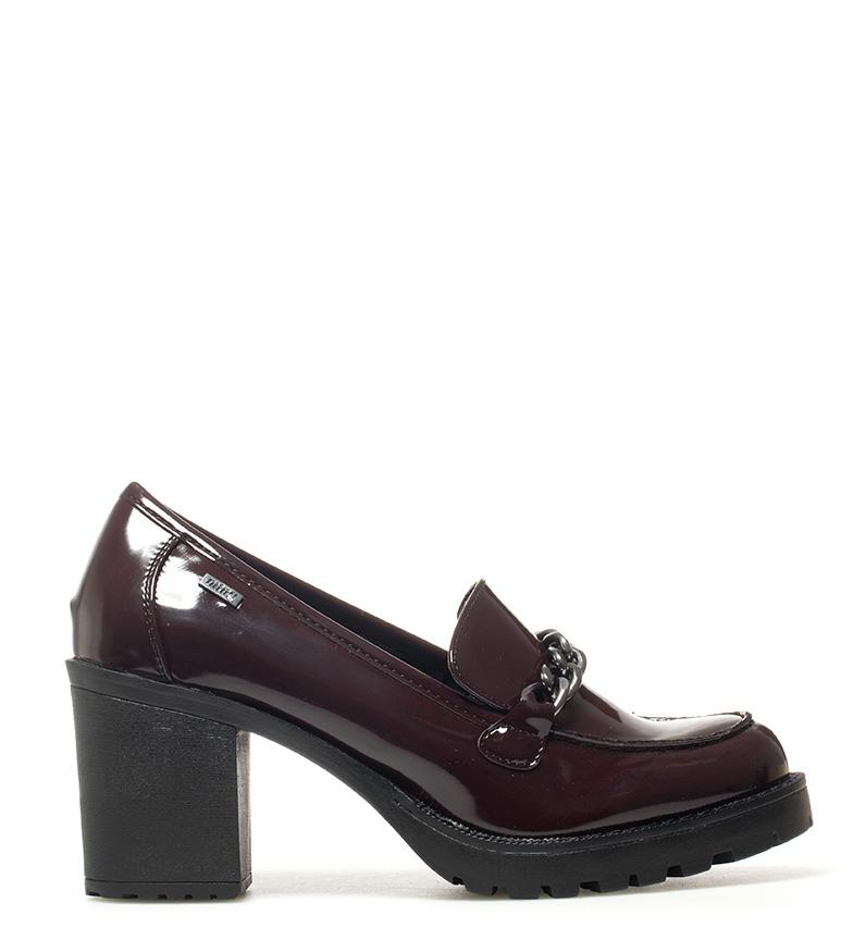 Comprar Mustang Mila burgundy shoes - Heel height: 7.5cm-