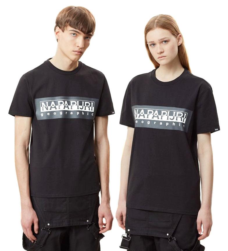 Comprar Napapijri Camiseta Sele preta