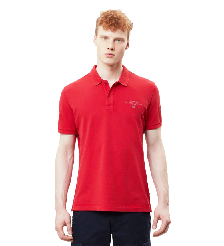 Comprar Napapijri Polo Elbas 2 rosso granatina rossa