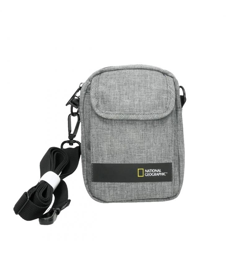 Comprar National Geographic Bolsa de ombro Stream cinza claro -13,5x4x18,5cm-