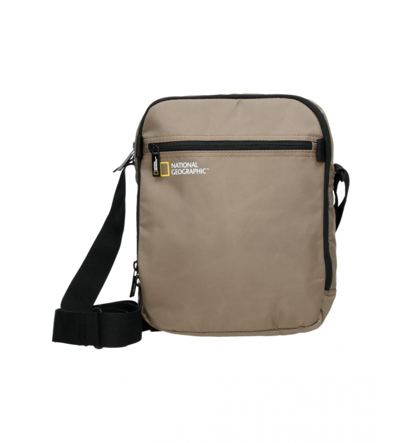 Comprar National Geographic Bandolera Transform beige -23x9,5x29cm-