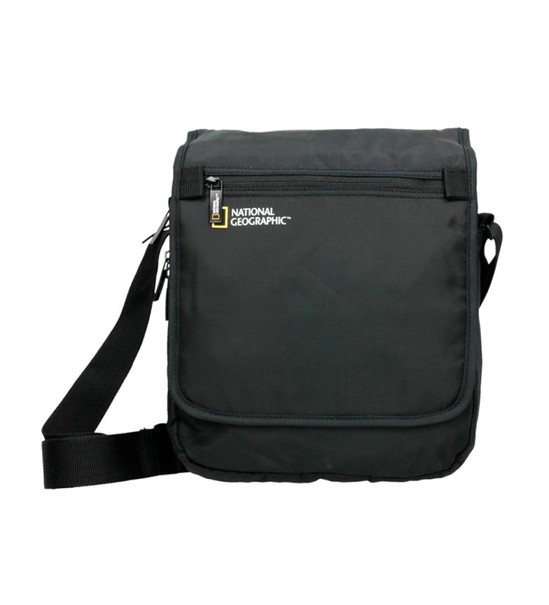 Comprar National Geographic Trasforma la borsa a tracolla nero -24x10x27cm-