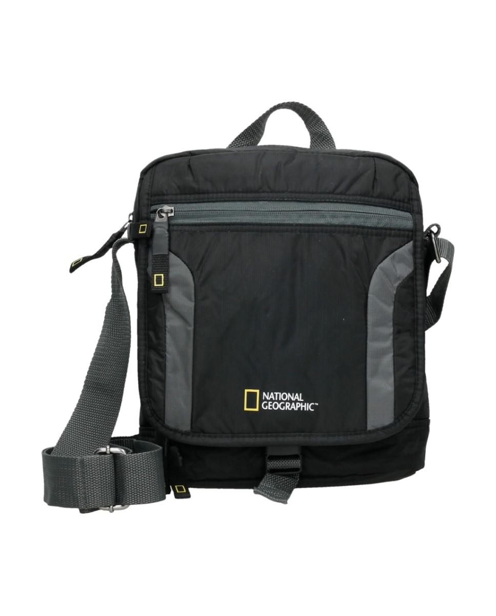 Comprar National Geographic Discover black shoulder bag -24x8x30cm-