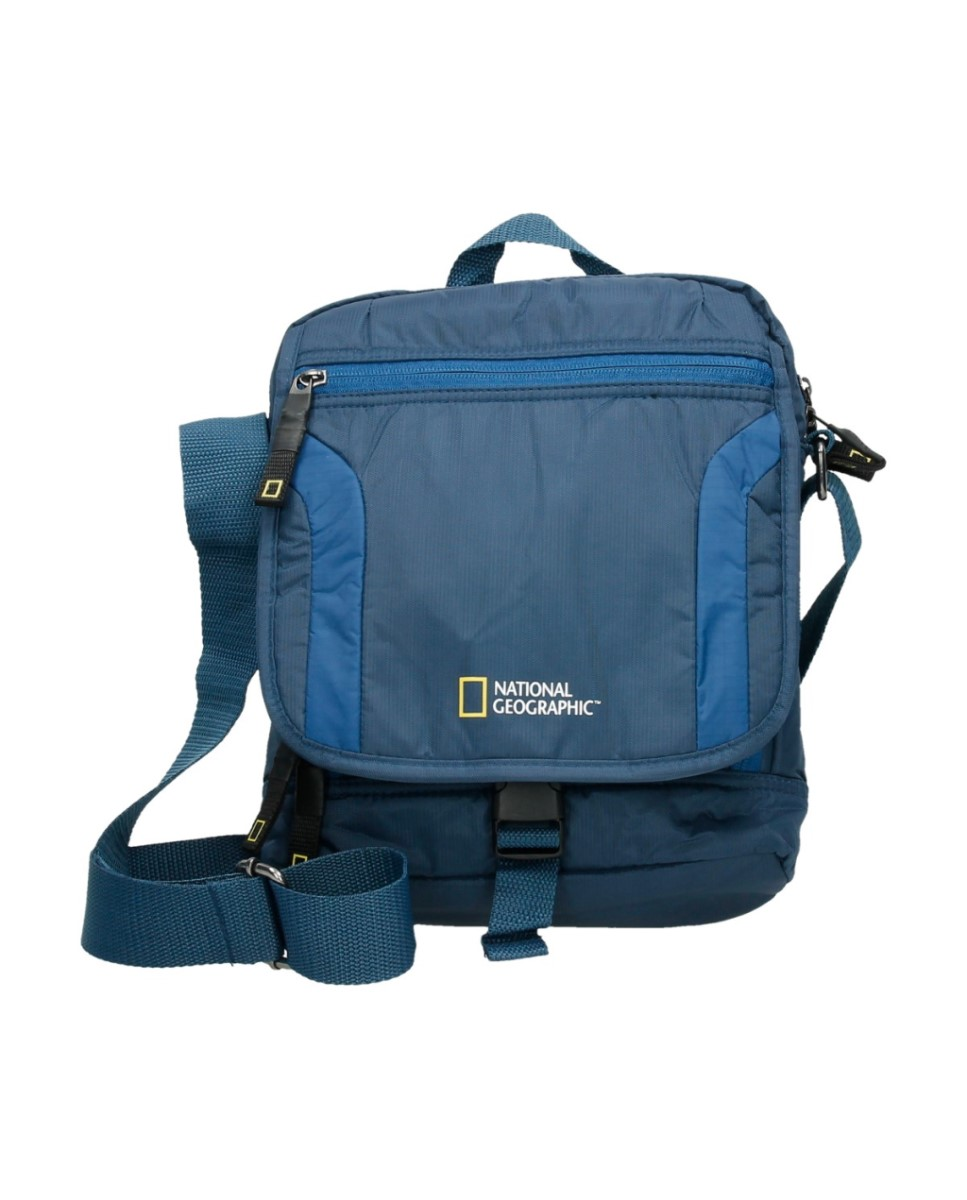 Comprar National Geographic Bandolera Discover azul -24x8x30cm-