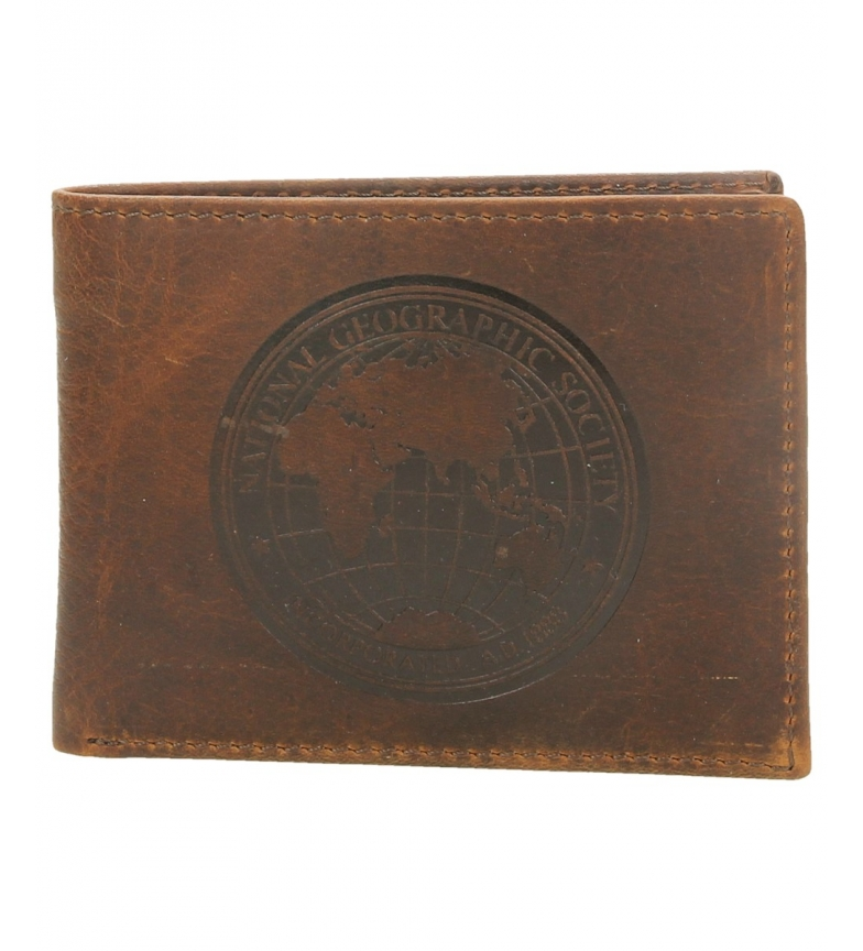 Comprar National Geographic Moscow leather leather wallet -2x10,5x8-