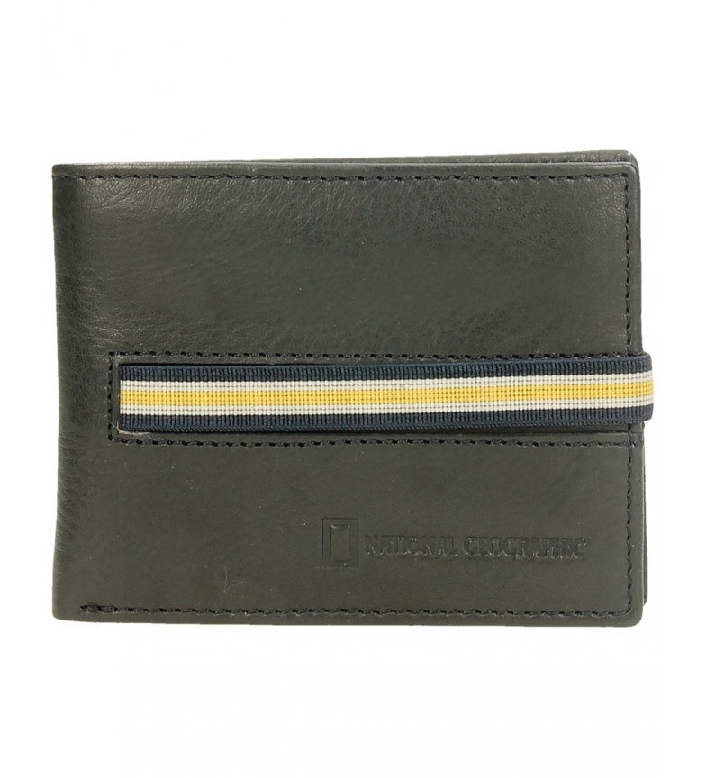 Comprar National Geographic Leather wallet black -2x10,5x8cm-