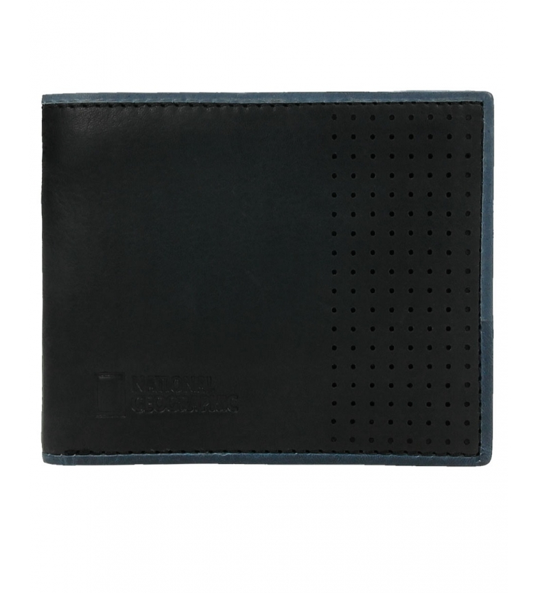 Comprar National Geographic Comet leather wallet black -2x11x9cm-