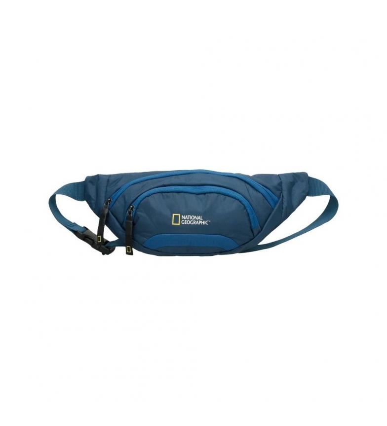 Comprar National Geographic Découvrez le sac de taille bleu -34x10,5x16cm-