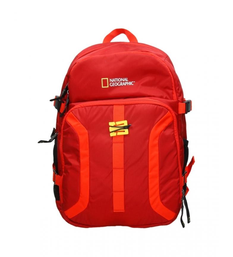 Comprar National Geographic Mochila Discover rojo -34x17x51cm-