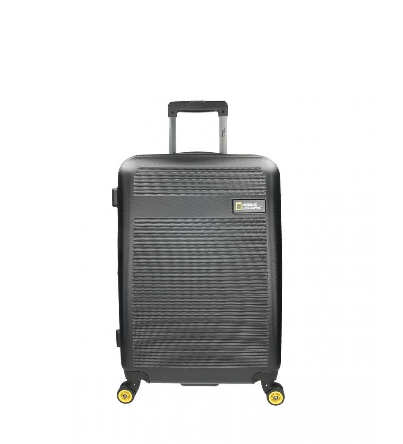 Comprar National Geographic Trolley mediana Aerodrome negro -46x27x67cm-