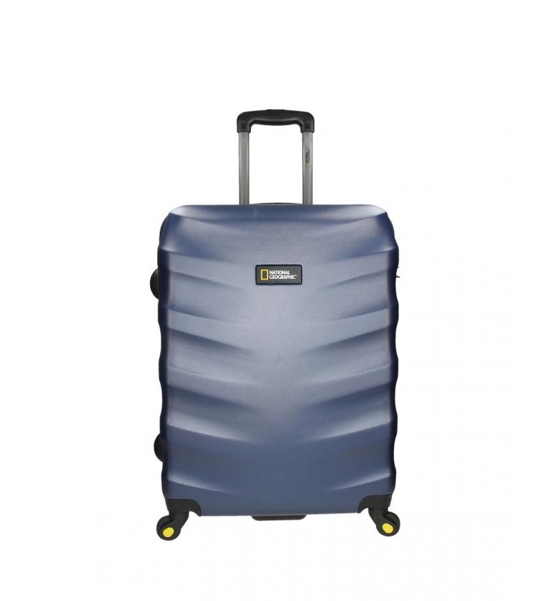 Comprar National Geographic Medium trolley Blue earring -48x27x67cm-