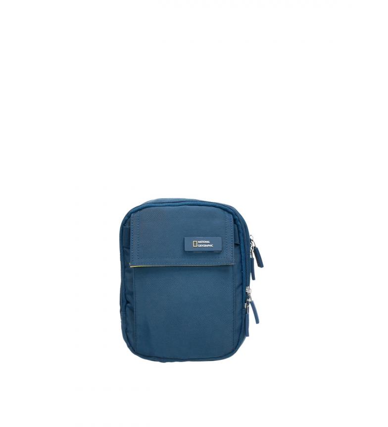 Comprar National Geographic Tracolla Academy blu -14,5x7,5x19cm