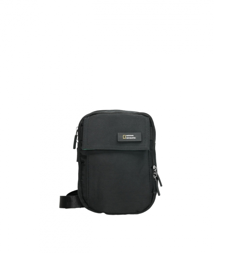 Comprar National Geographic Tracolla Academy nera -14,5x7,5x19cm