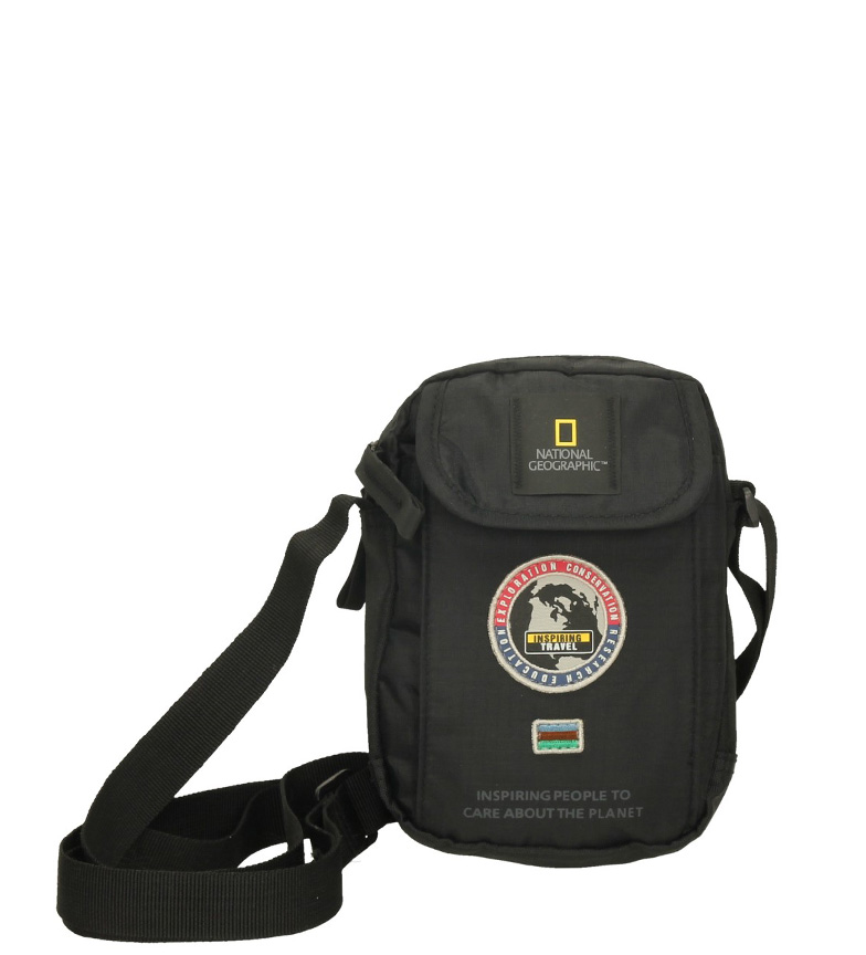 Comprar National Geographic Shoulder bag black-13,5x4x18,5cm-