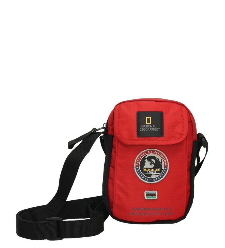 Comprar National Geographic Borsa a tracolla Explorer rosso-13,5x4x18,5cm-