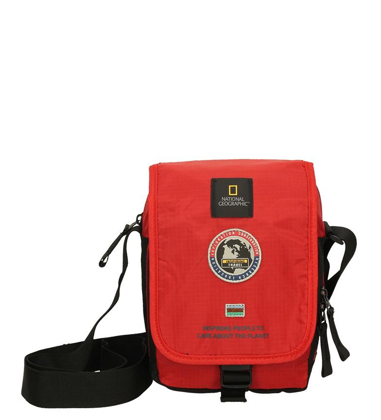 Comprar National Geographic Saco de ombro explorador vermelho-15,5x10,5x21,5cm-