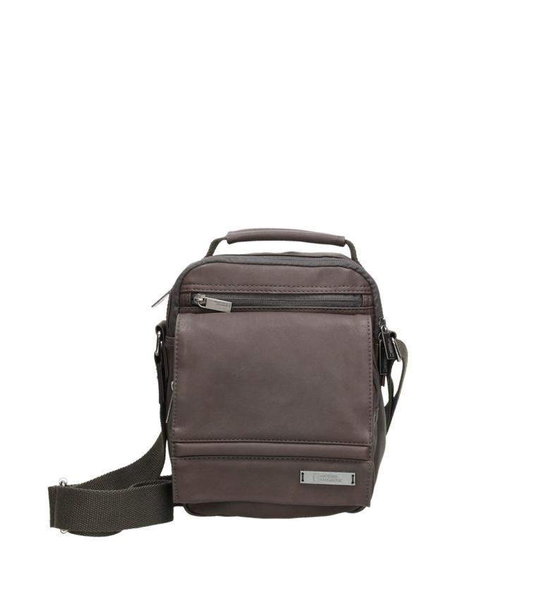 Comprar National Geographic Peak brown shoulder bag -20,5x12,5x26cm