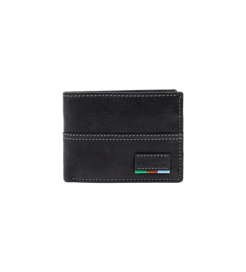 Comprar National Geographic Portefeuille Galaxy en cuir noir -2x10,5x8cm